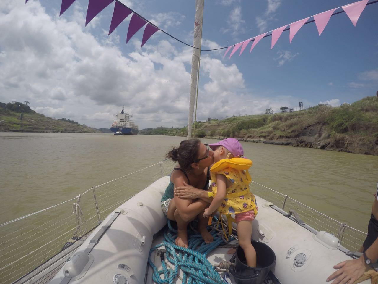 Geburtstag im Panamakanal