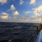Pazifik mittendrin (3 Wochen auf See)