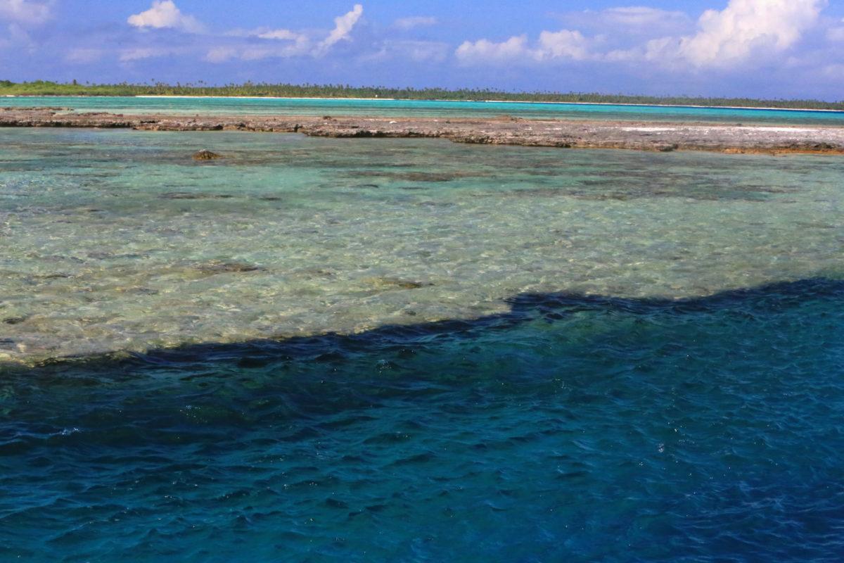 Ausflug ins Atoll